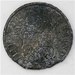 Mexico City, Mexico, pillar 4 reales, Philip V, 1742MF, ex-Sotheby's.