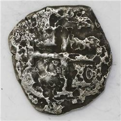 Potosi, Bolivia, cob 4 reales, 1727(?)(M?).