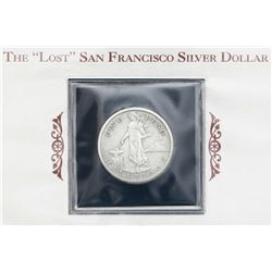Philippines (struck in San Francisco), 1 peso, 1908-S, in promotional holder.