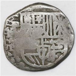 Potosi, Bolivia, cob 4 reales, (1)619T, rare.