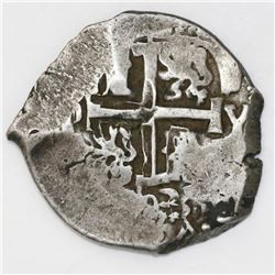 Potosi, Bolivia, cob 8 reales, 1703Y.