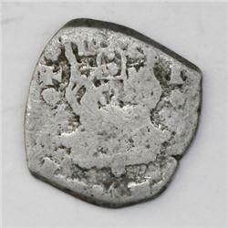 Guatemala, cob 1/2 real, 1752J.