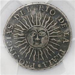Argentina (River Plate Provinces), Potosi mint, 2 reales, 1813J, PCGS VF30.