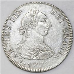 Mexico City, Mexico, bust 4 reales, Charles III, 1778FF.