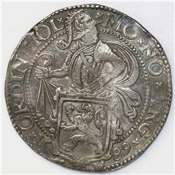 """Holland, United Netherlands, """"lion"""" daalder, 1589."""