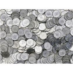 Large lot of 450 Philippines aluminum 1 sentimos, 1969, Lapu-Lapu.