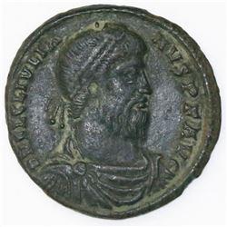 Roman Empire, AE maiorina, Julian II, Arles mint, 360-363 AD.