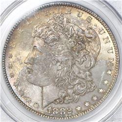USA (Philadelphia mint), $1 Morgan, 1882, PCGS MS64.