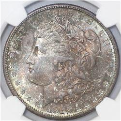 USA (San Francisco mint), $1 Morgan, 1882-S, NGC MS 66.