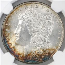 USA (Philadelphia mint), $1 Morgan, 1887, NGC MS 63.
