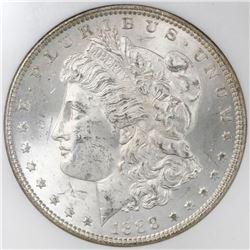 USA (Philadelphia mint), $1 Morgan, 1888, NGC MS 64, ex-Binion (stated on label).