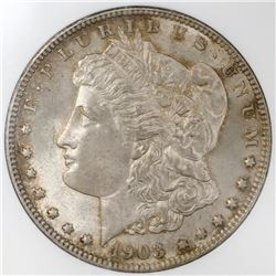 USA (Philadelphia mint), $1 Morgan, 1903, NGC MS 64.