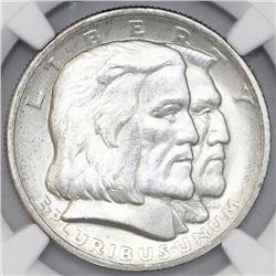 USA (Philadelphia mint), half dollar, 1936, Long Island, NGC MS 64.