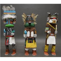 THREE HOP KACHINAS (DAVID)