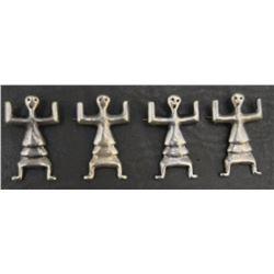 FOUR NAVAJO PINS