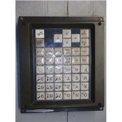 FANUC A02B-0210-C120/MA KEYBOARD