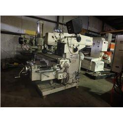 Cincinnati Milacron 2MK Horizontal Mill w/ Toolmakers Overarm & Univ Head