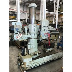 "4' x 11"" Carlton Radial Arm Drill Press"