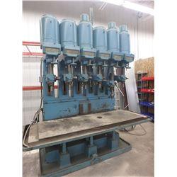 6 Spindle Leland Gifford Drill Press