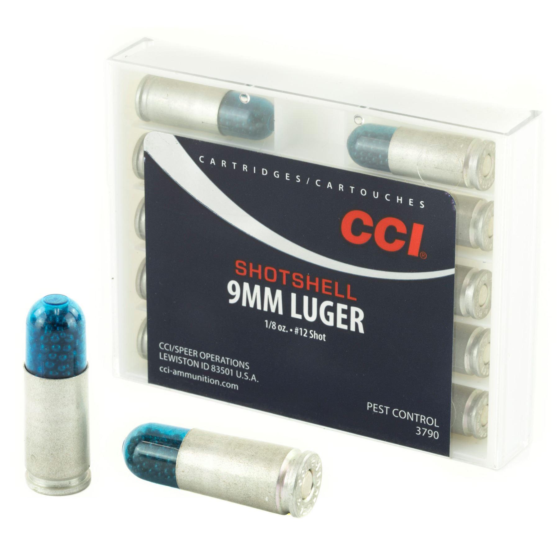 CCI/Speer, Shotshell, 9MM, 64 Grain, Shotshell, #12 Shot Size, 10