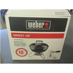 New Weber Smokey Joe BBQ / 14 inch charcoal grill / portable great for