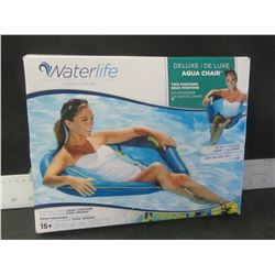 "Waterlife Aqua Chair / 39"" / 2 position sit up or lay back /"