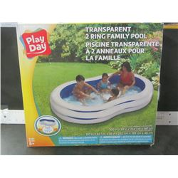 2 Ring Family Pool / 100 inch x 58