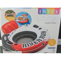 Intex lounge River Run Tube / 2 cup holders / 53 inch