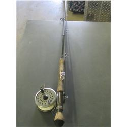 White River Fly Rod DGC908   9ft 2 piece  #8 line  & Reel model# DCN78