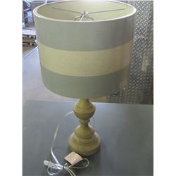 New Table Lamp 24 inch high / needs a nut on top for shade- see pic