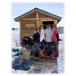 Gull Lake Ice Fishing Package for 4
