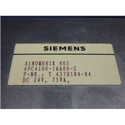 SIEMENS 6FC4100-1AA00-Z SINUMERIK 805