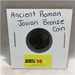 Ancient Roman Jovian Bronze Coin