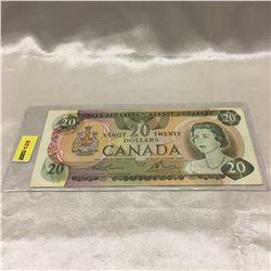 """Canada $20 Bill 1979  S/N# """"510""""00187935"""