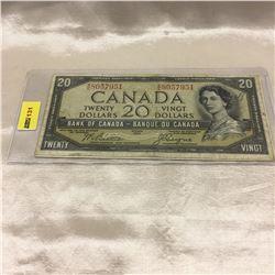 Canada $20 Bills (2) :  1954DF