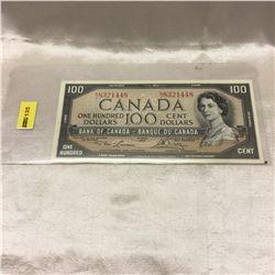 Canada $100 Bill 1954