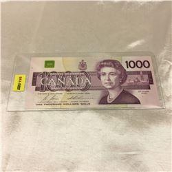 1988 Canada $1000 Bill (Bonin/Thiessen)
