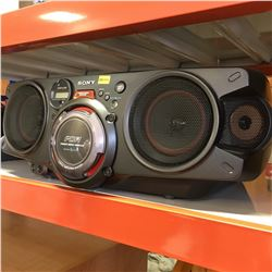Sony Boom Box (Battery Operated) No Cord