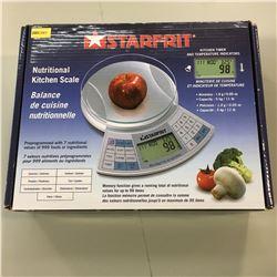 Starfrit Nutritional Kitchen Scale
