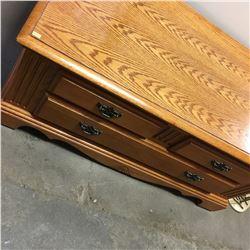 Wooden Storage Chest/Foot Locker