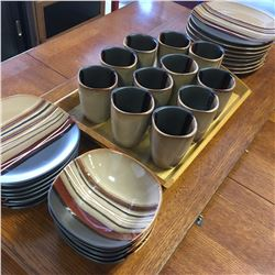 Home Trends Dish & Cup Set