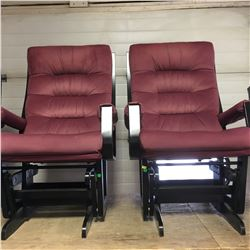 Pair of Glider Chairs