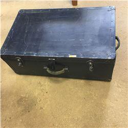 Blue Foot Locker Trunk
