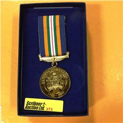 "Alberta Centennial 1905-2005 Medal ""Honouring Outstanding Albertans"""