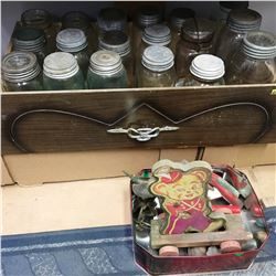 Drawer Lots : Jars & Vintage Toys/Collectibles