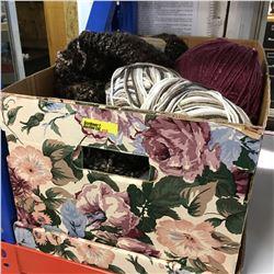Box Lot: Yarn/Wool