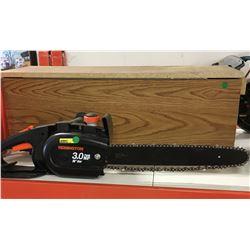 "Remington 3.0hp 16"" Chainsaw w/Wooden Storage Box"