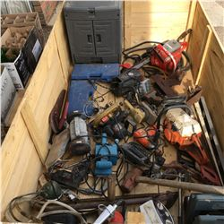 Crate Lot: Hand & Power Tools - Large Selection!