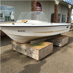 """Larson All American 15-1/2' Boat Hull """"Shell Only"""""""