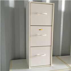 3 Drawer Tower - White